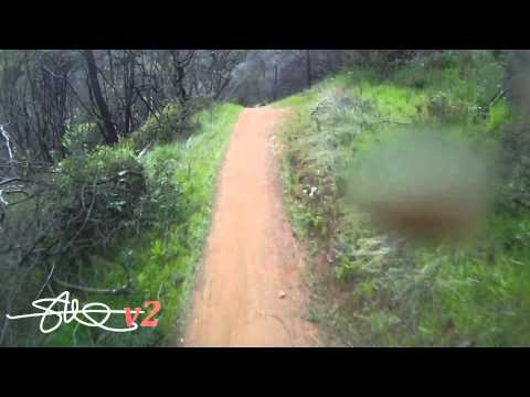 Auburn Ravine 1080p Downhill Mountain Bike Ride - GoPro Cam  - Auburn, CA