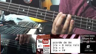 cumbia bass 70bpm 4x4 Bm 1 minute Bass