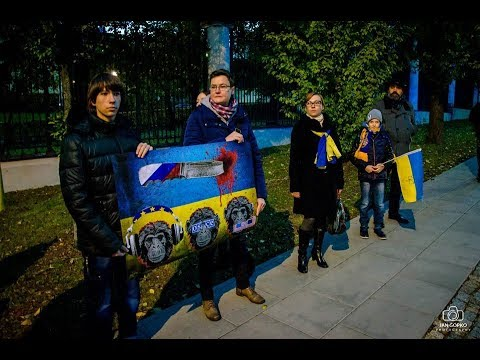 "Akcja ""Stop Putin's War in Ukraine 2.0"" w Warszawie / 14.10.2016"