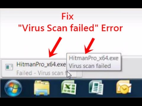 Failed - Virus scan failed. Fix Google Chrome Download Error