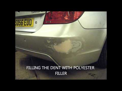 BMW Rear Bumper Repair by Autosmart Glasgow