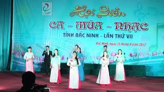 """Huyện Tiên Du BD hay nhất bài hát """"Niềm tin ngày mới"""