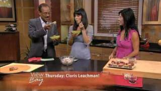 "Ani Phyo raw food on ""The View from the Bay"", ABC Channel 7"
