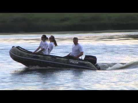 надувные лодки тест моторов видео