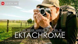 Ektachrome E100 | Leica M6 | And a New Zealand Landscape