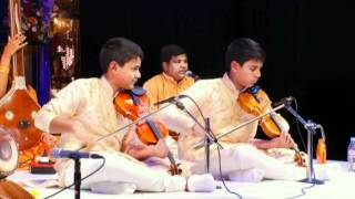 Kartigan and Ramanan Violin Arangetram - Niravathi Sugatha