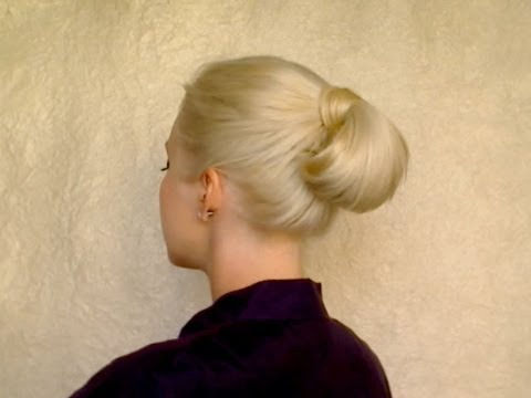 Hairstyles For Long Hair Job Interview : Quick easy hairstyle for long hair for work, office, job interview ...