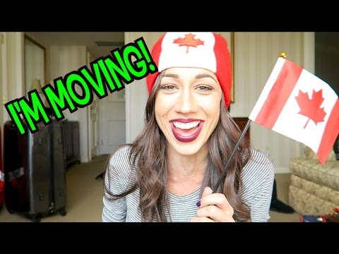 I'M MOVING TO CANADA!