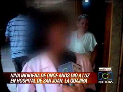 Niña indígena de 11 años de edad dio a luz en Guajira