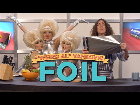 Exclusive weird Al Yankovic Music Video: Foil (parody Of royals By Lorde) video