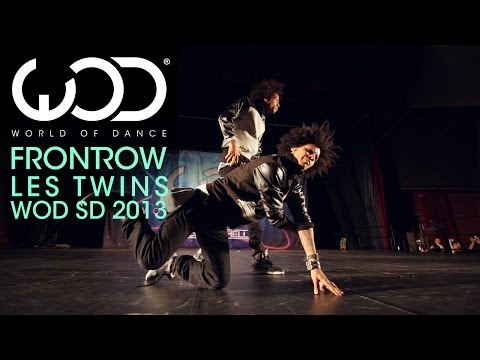 Les Twins | World Of Dance | Frontrow | #wodsd 2013 video