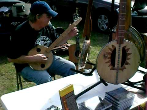 Damon's Dulcimers at First Monday Trade Days in Canton, Tx