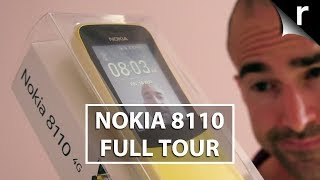 Nokia 8110 4G Unboxing | Full banana phone tour!