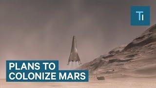 Lockheed Martin reveals its plan to send humans to Mars