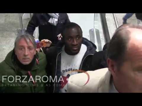 Seydou Doumbia sbarca a Roma [HD]