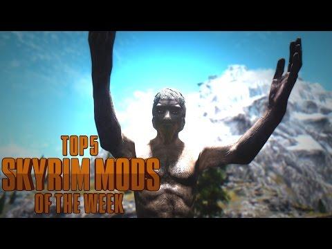 Deeply Disturbing Man-Chicken in Skyrim! - Top 5 Skyrim Mods of the Week
