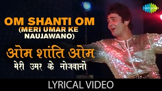 download lagu Om Shanti Om  Lyrics  ओम शांति ओम gratis