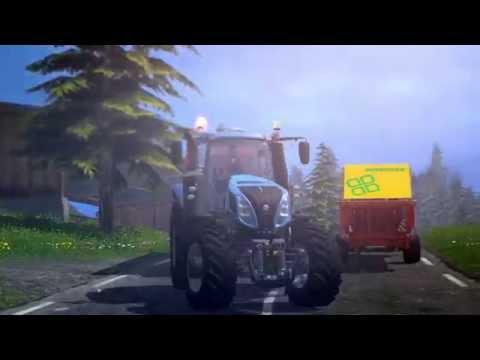 New Holland Agriculture on FARMING SIMULATOR 2015