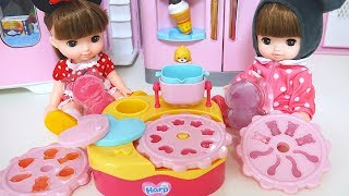 Baby Doll Jelly Maker Gummy Cooking Time Number 1234567890 Toy Soda