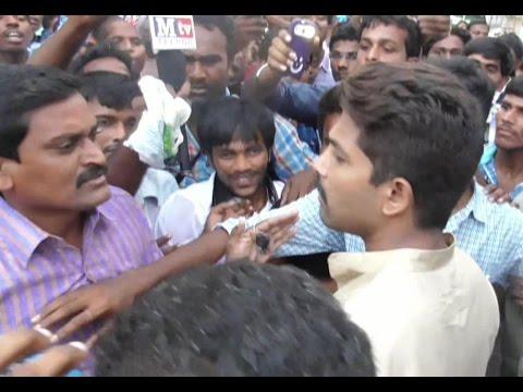 Allu Arjun fire on Fans Behaving badly
