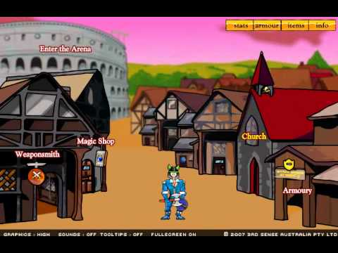 Игра Мечи и сандалии 1: Гладиатор играть и скачать