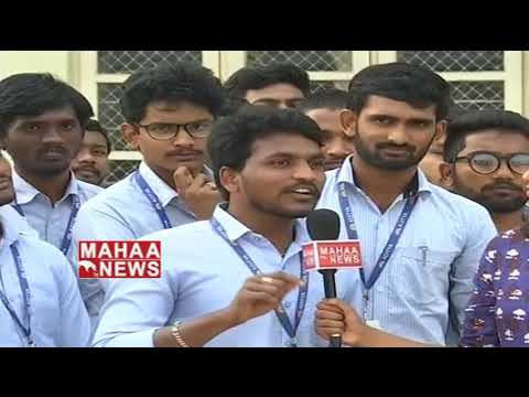 Aditya Degree College Students Opinion On Andhra Politics | kakinada | Mahaa news