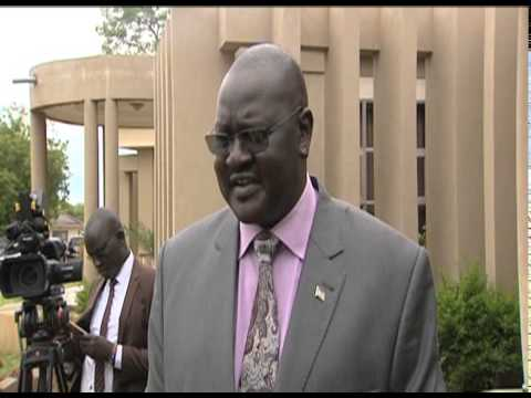 Salva Kiir has met five former detainees who returned