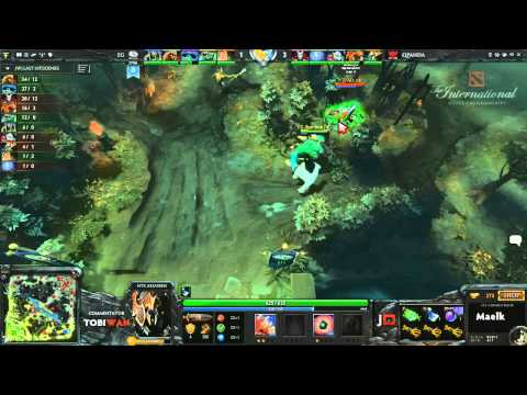 Qpanda vs Evil Geniuses Game 2  DOTA 2 International Western Qualifiers - TobiWan & Soe