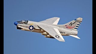 Scratch-Built RC A-7 Corsair II - Best in the West Jet Rally 2017