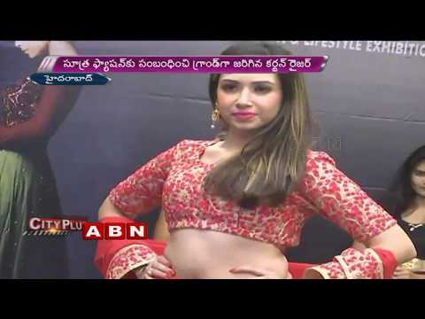 Models Ramp Walk At 'Sutra Fashion Curtain Raiser Event' In Hyderabad | ABN Telugu