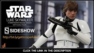 Star Wars A New Hope Hot Toys Luke Skywalker in Stormtrooper Disguise 1/6 Scale Figure Review
