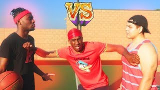 1v1 Basketball vs Miss Thotiana's Ex Boyfriend (IF I WIN, I TAKE HIS GIRL ON A DATE!) REMATCH