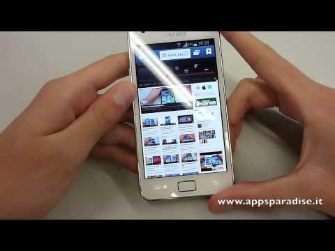 Recensione Samsung Galaxy S2 Plus ita by AppsParadise