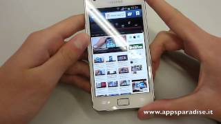 Recensione Samsung Galaxy S2 Plus ita by AppsParadise