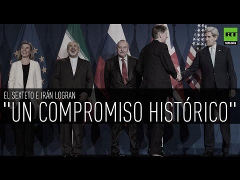 Tras muchos años de crisis nuclear Irán y el Sexteto logran un acuerdo