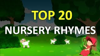 Top 20 Popular Kids rhymes | +More Nursery English Rhymes & Song for Children | Elearning Studio