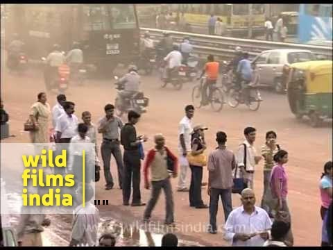 Madness of a Delhi street!