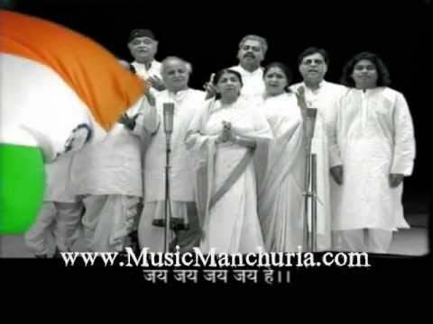 Jana Gana Mana -a.r Rahman By Musicmanchuria.wmv video