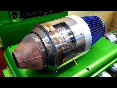 Турбо Электрореактивный двигатель - Еlectric JET engine