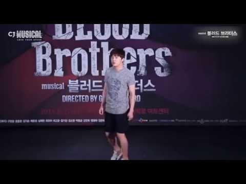 (20140609)조정석(Cho Jung Seok) - 뮤지컬 (블러드브라더스) 연습현장' long sunday afternoon'