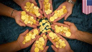 Treasure hunters uncover $4.5 million worth of treasure in Florida's Treasure Coast - TomoNews
