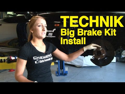 How To Install Brakes - Alcon Big Brake Kit from Paragon Performance - Technik