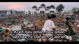 Lagu Daerah Aceh Aneuk Yatim SEDIH  :`
