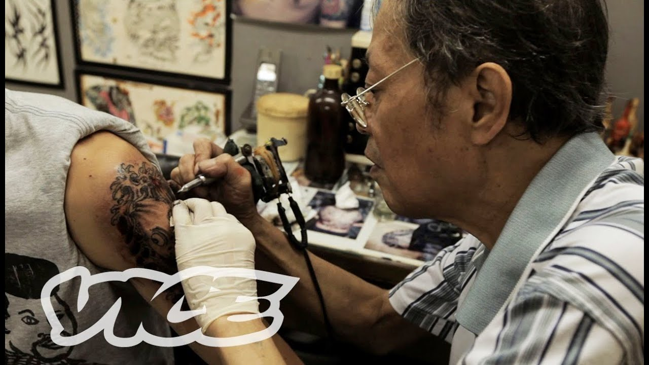 Hong Kong Tattoo Legend: VICE INTL (China) - YouTube