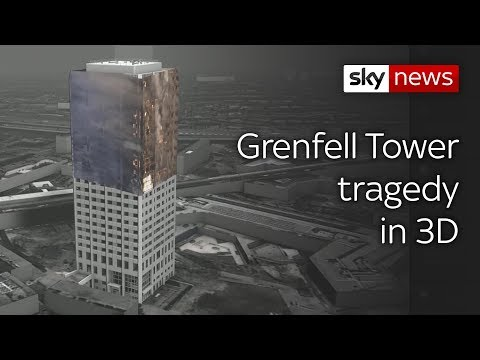 Grenfell special: 3D imaging reveals how the tragedy unfolded