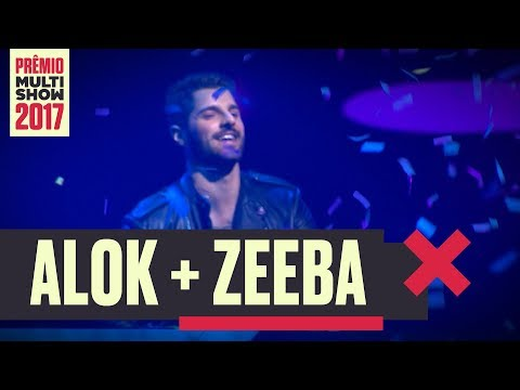 Here Me Now + Never Let Me Go + Big Jet Plane | Alok + Zeeba | Prêmio Multishow 2017