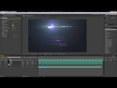 Elegant Light Streaks (No Third Party Plugins) | After Effects Tutorial