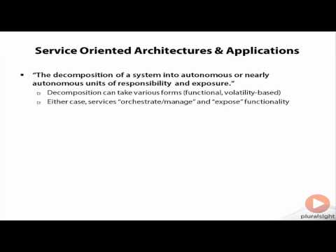 What is service-oriented architecture?