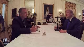 Pags Interviews President Trump