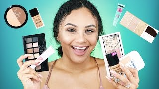 FULL FACE FIRST IMPRESSIONS | DRUGSTORE MAKEUP + TOOLS